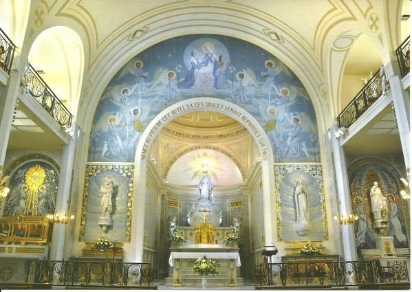 chapel of our lady of the miraculous medal ann jeanne in. Black Bedroom Furniture Sets. Home Design Ideas