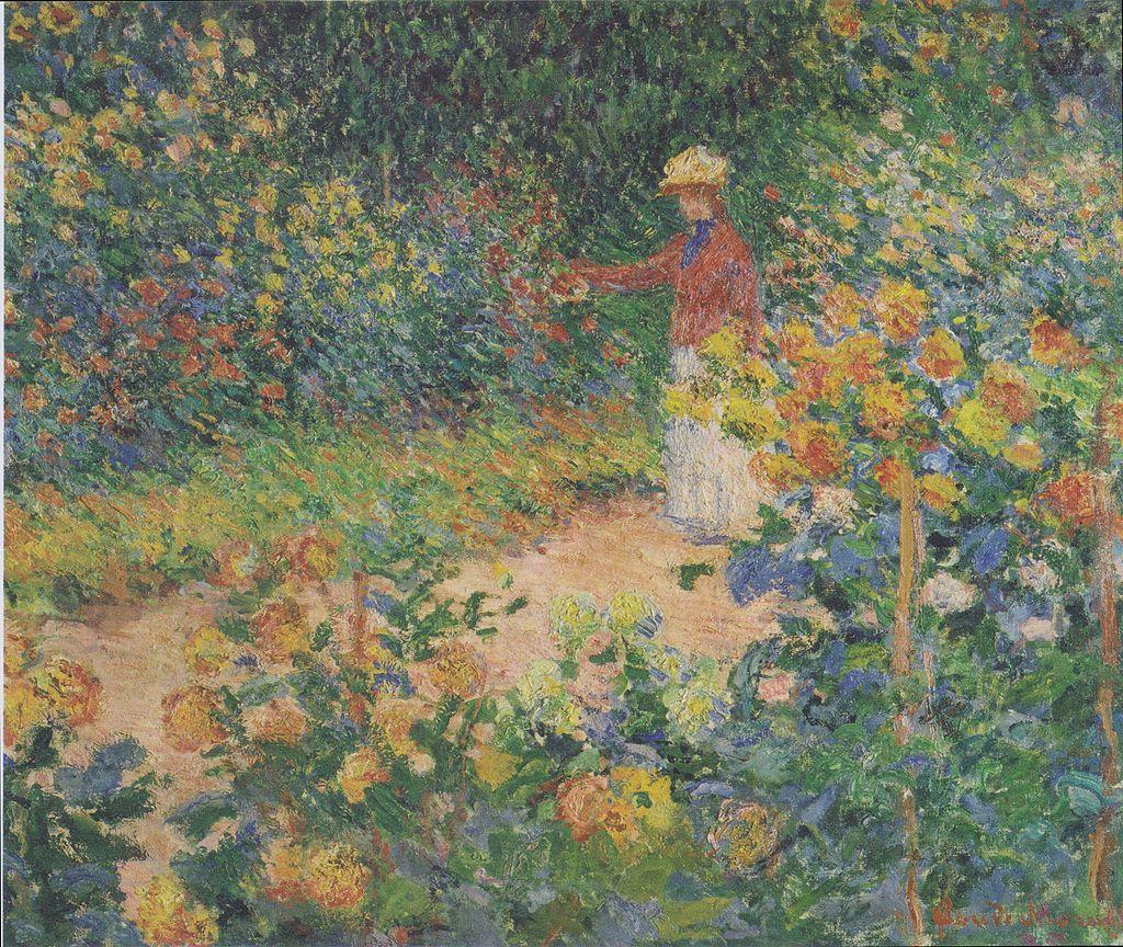 1024px-Monet_-_Im_Garten_-_1895