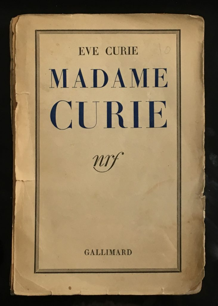 1st edition of Eve's book devoted to her Mother - 1938