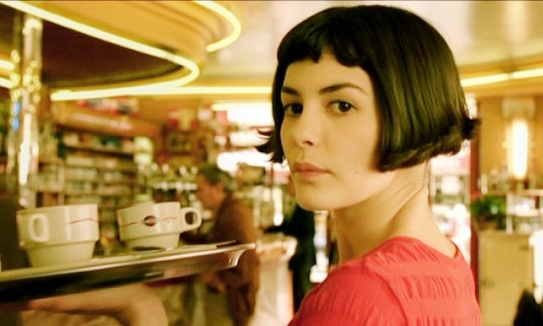 Amélie in the Café des 2 Moulins