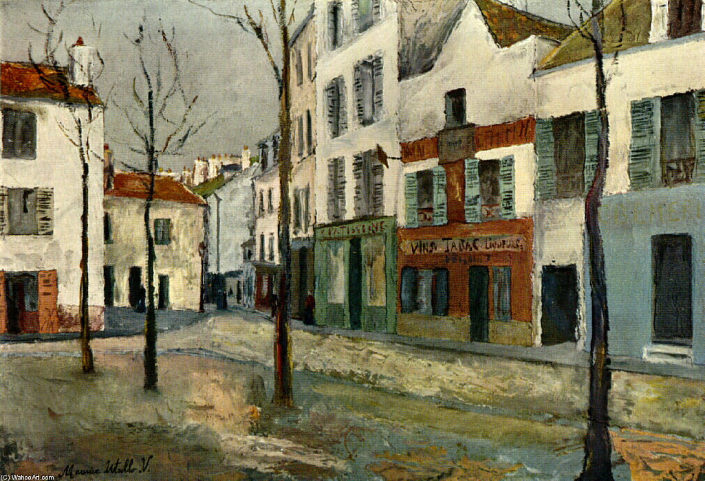 Place du Tertre by M. Utrillo