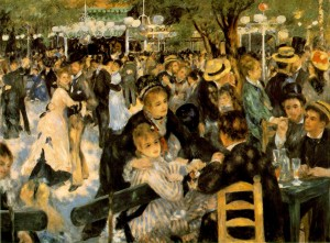 Le bal du Moulin de la Galette by Renoir