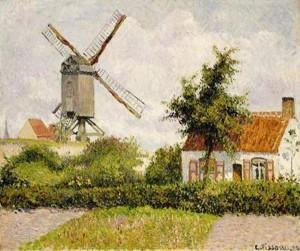 Le Moulin de la Galette by C. Pissaro