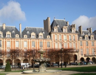 Le Marais and the Place des Vosges