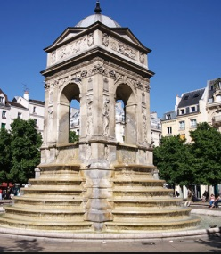 Les Halles and the Innocents fountain
