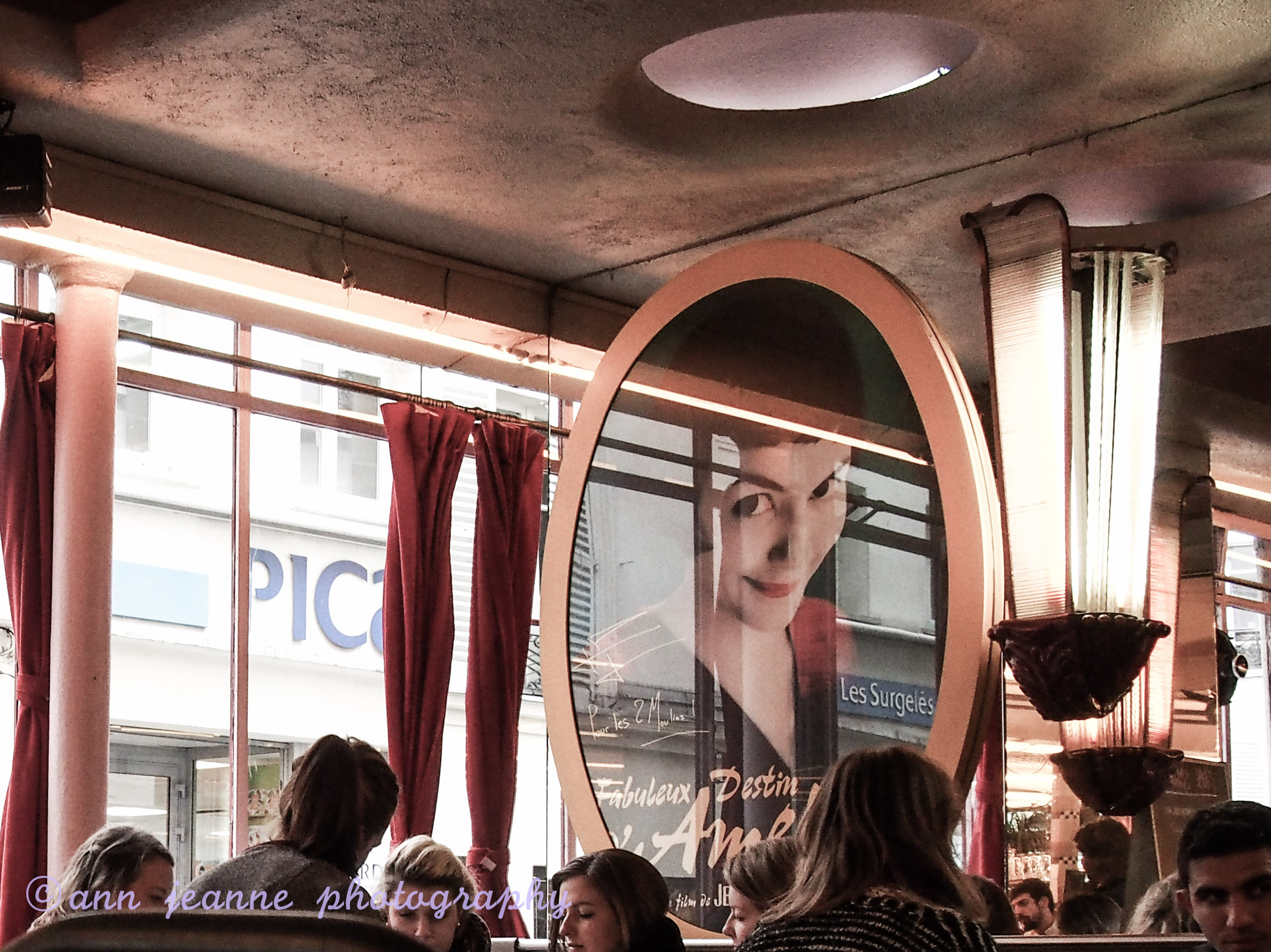 The Amelie's cafe