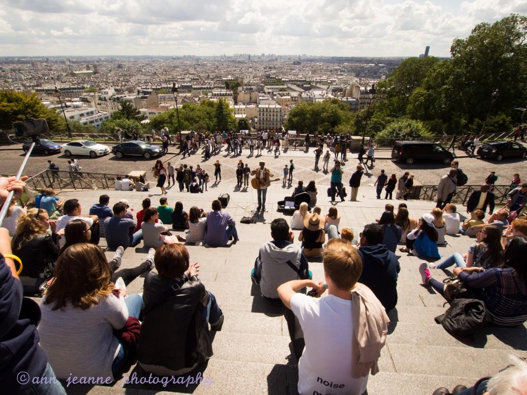 A view over Paris