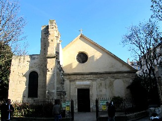 Saint Julien le Pauvre church