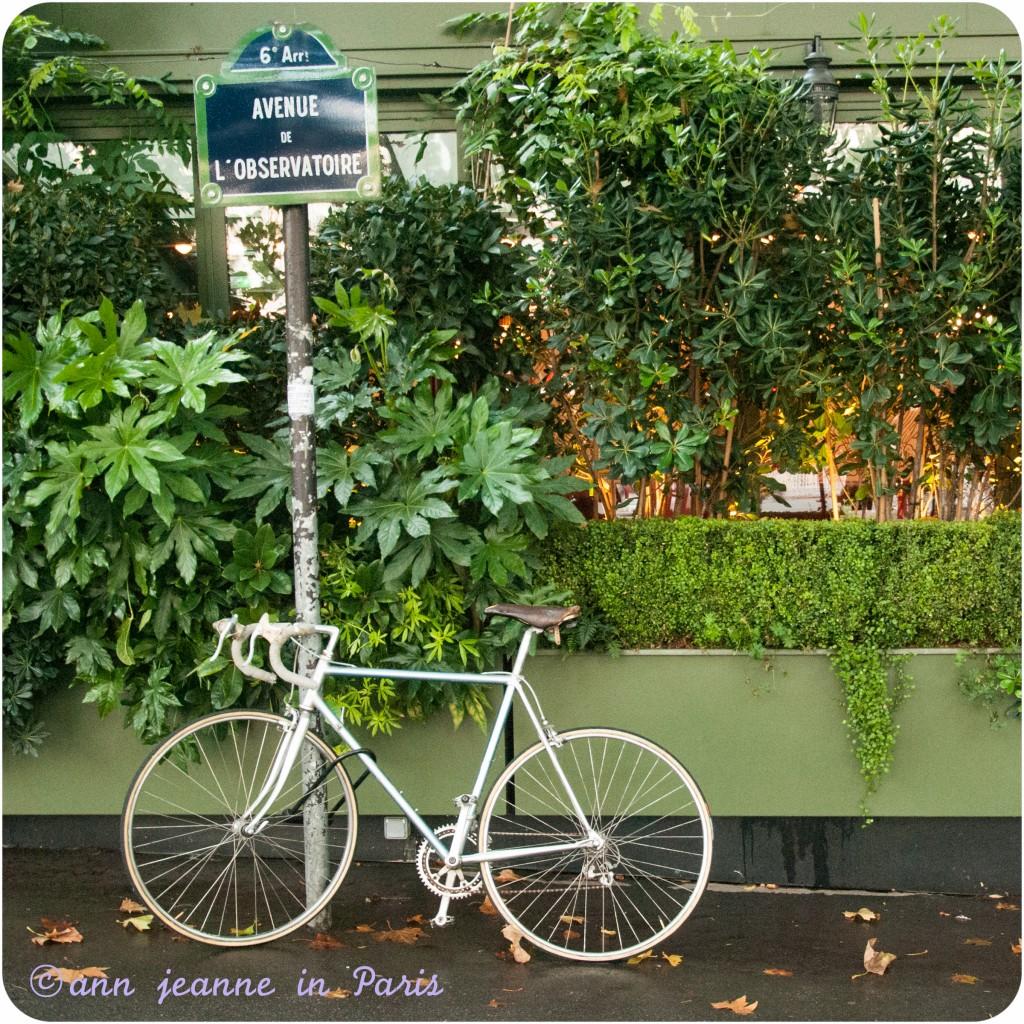 La Closerie des Lilas - Vélo