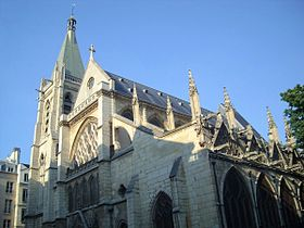 Saint Severin church