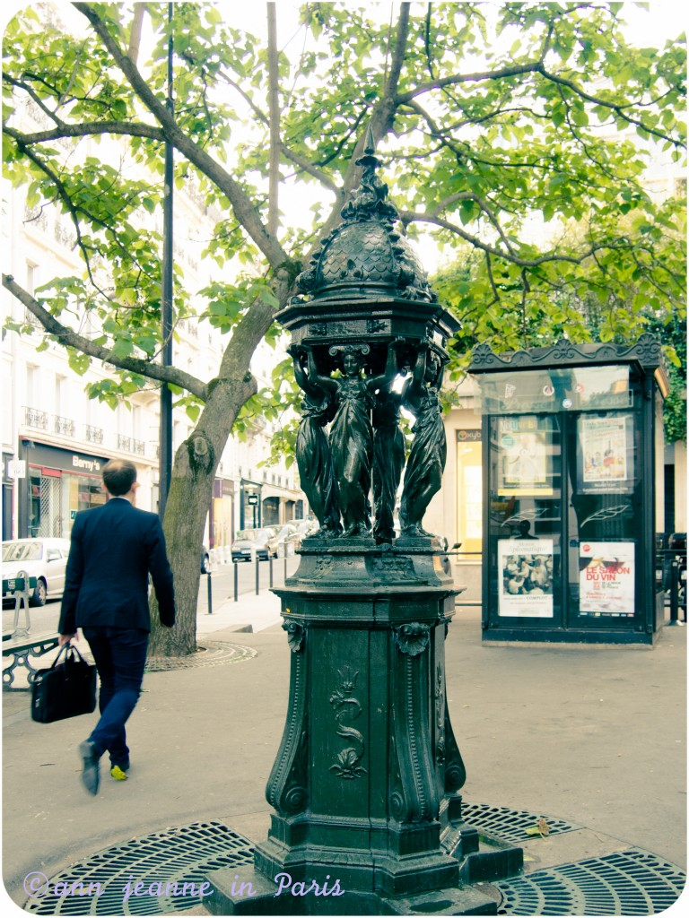 Wallace Fountain - Rue Vavin