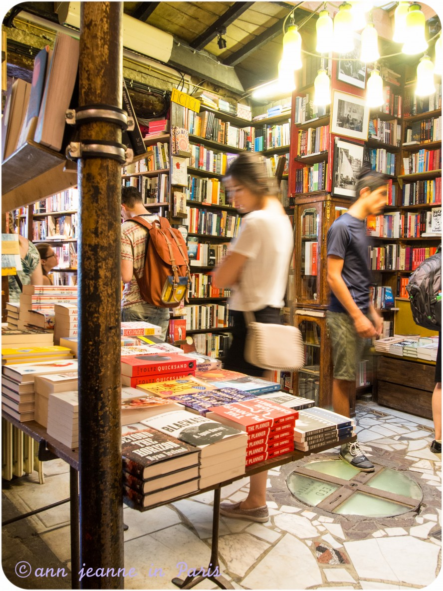 Inside the bookstore