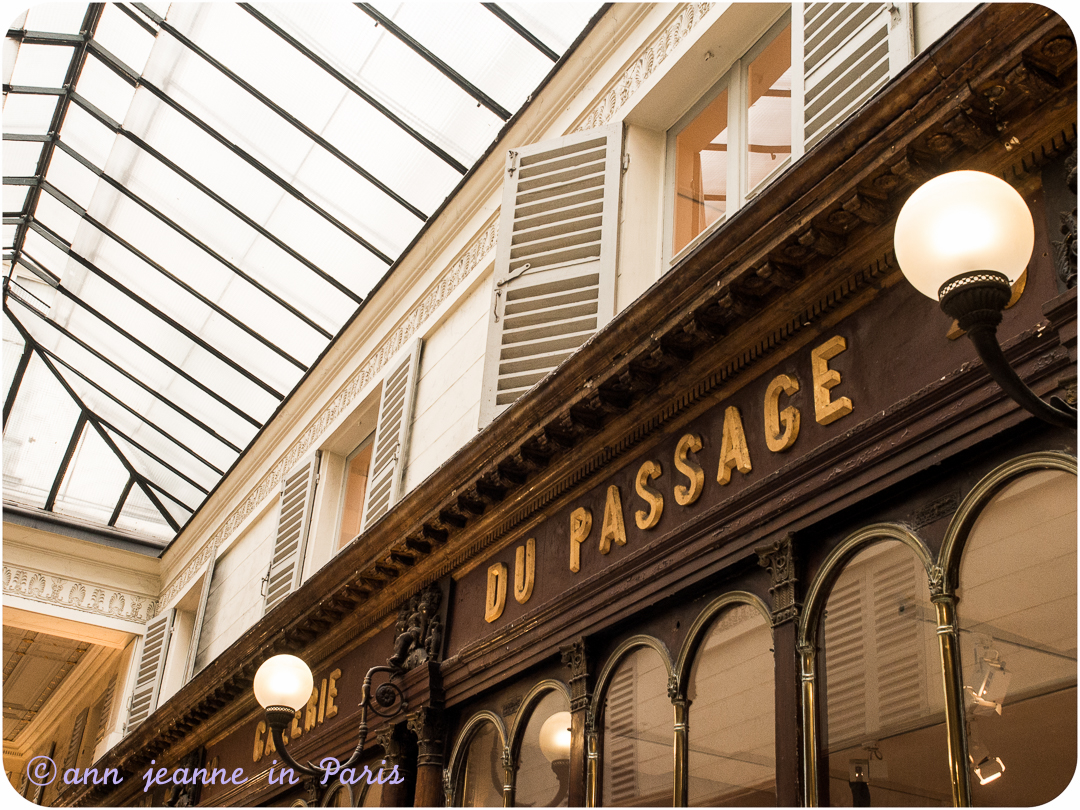 An old boutique in a covered passage