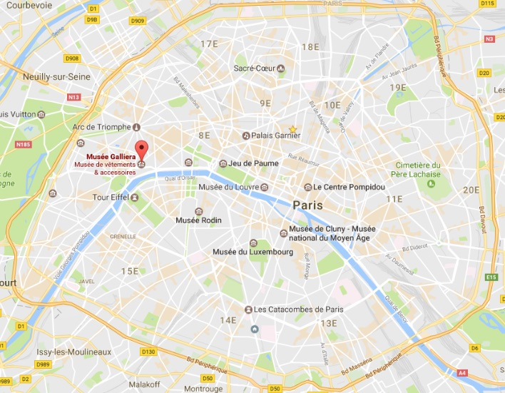 Carte Paris repérage
