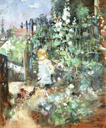 Child among the Hollyhocks, 1881, Wallraf-Richartz Museum