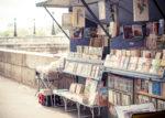 "Paris'bookstall  11""x 17"" (30x45cm)"