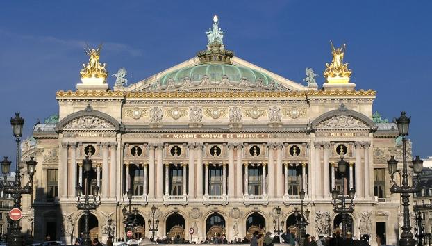 Façade Opéra Garnier