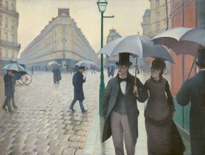 """Paris street, rainy day"", Gustave Caillebotte"