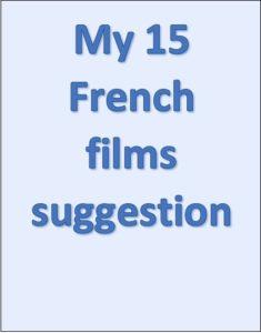 Illustration - My 15 Franch films suggestion