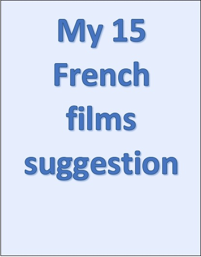 Illustration - My 15 Franch films suggestion