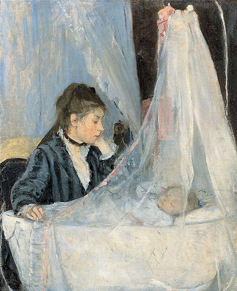 Le Berceau (The Cradle), 1872, Musée d'Orsay