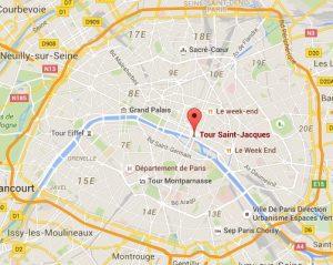 Map Tour Saint Jacques