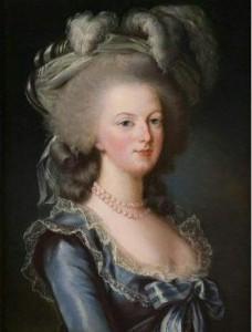 Marie Antoinette - by Louis Vigée Le Brun
