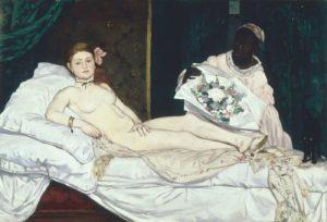 Oympia - Edouard Manet - 1865