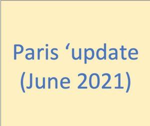 Paris update photo de couverture