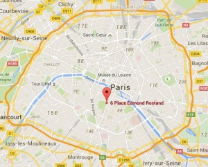Plan Paris - Le Rostand