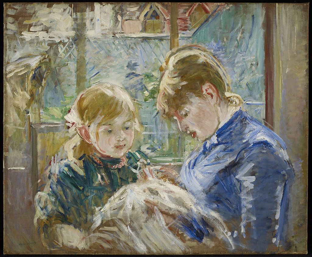 The Artists' Daughter Julie With Her Nanny, c.1884, Minneapolis Institute of Art