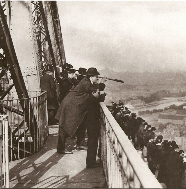 The Eiffel Tower in 1889