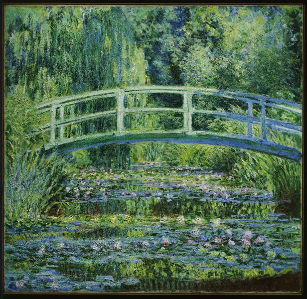 Water-Lily Pond, Claude Monet 1897-1899