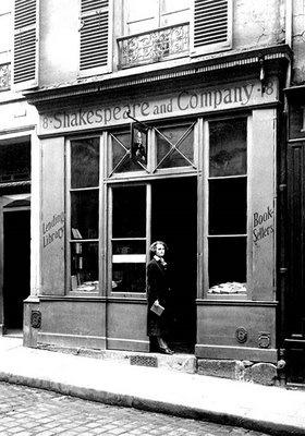 Shakespeare and Co rue de l'Odeon