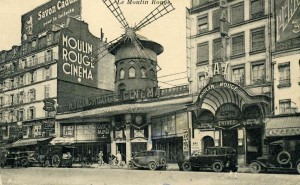 The Moulin Rouge - beginning of 20th century
