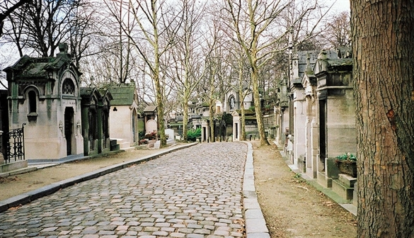 Père Lachaise cimetery