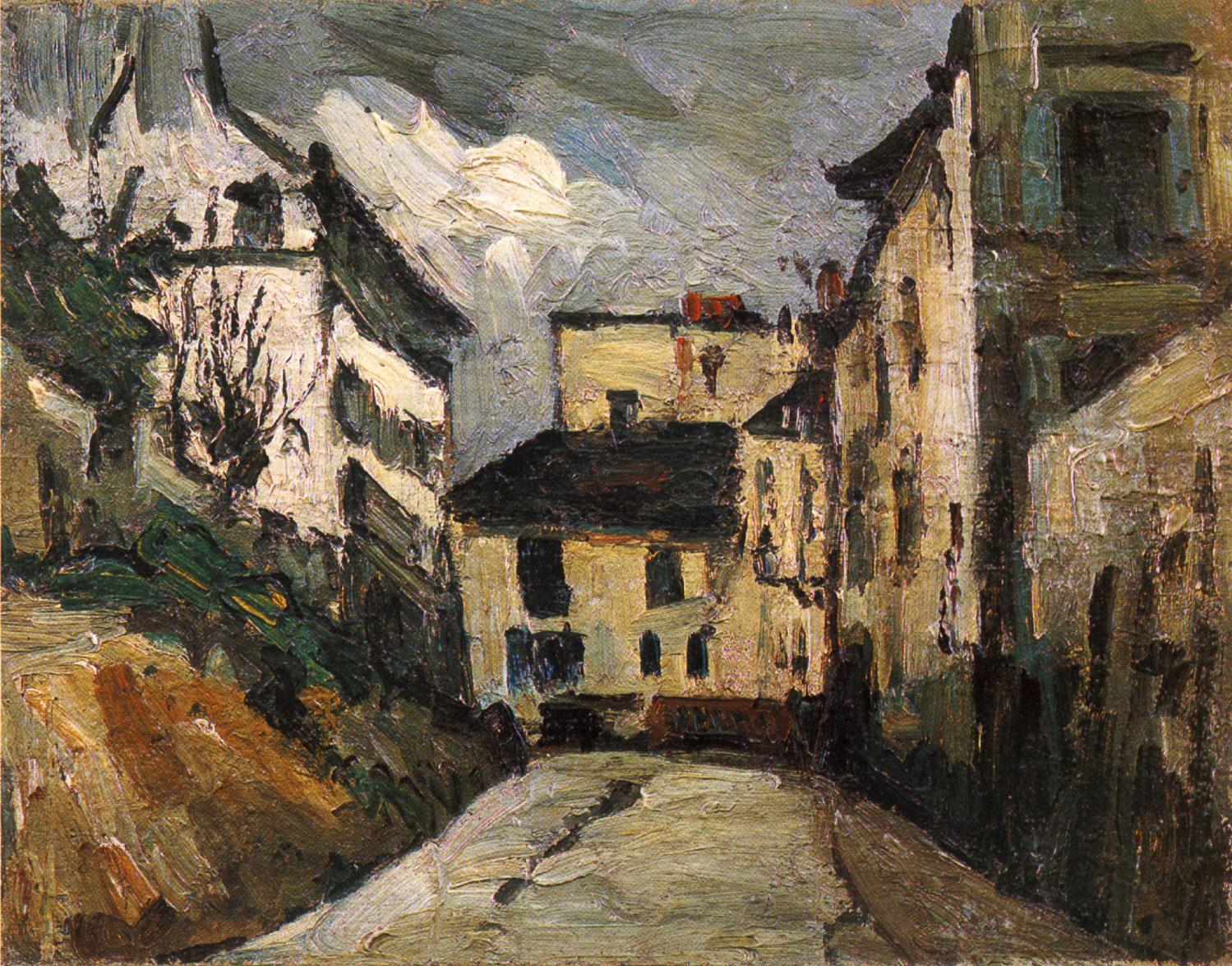 Rue des Saules by Cezanne