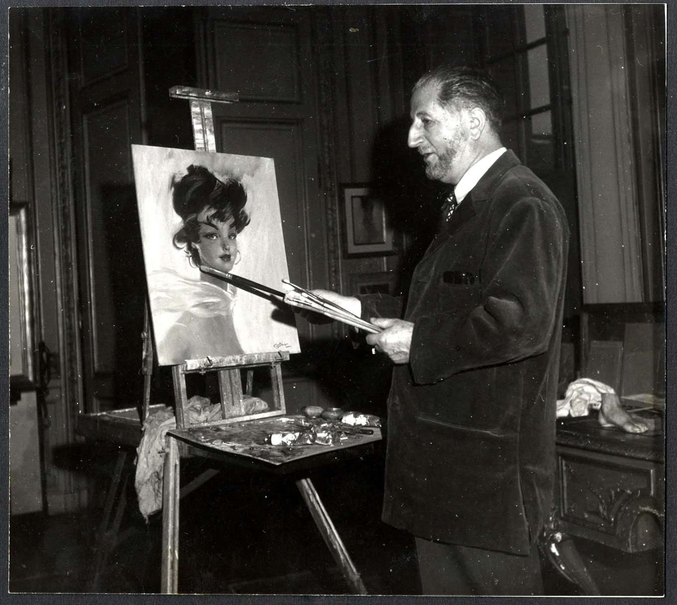 Art Of The Pinup: Jean-Gabriel DOMERGUE : Painter Of The Parisian Ladies