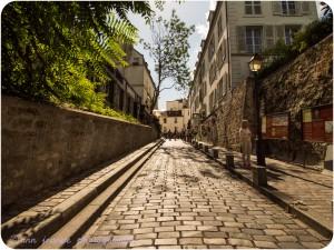 Rue des Saules nowadays