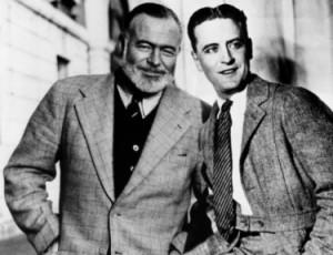 Hemingway and Fitzgerald