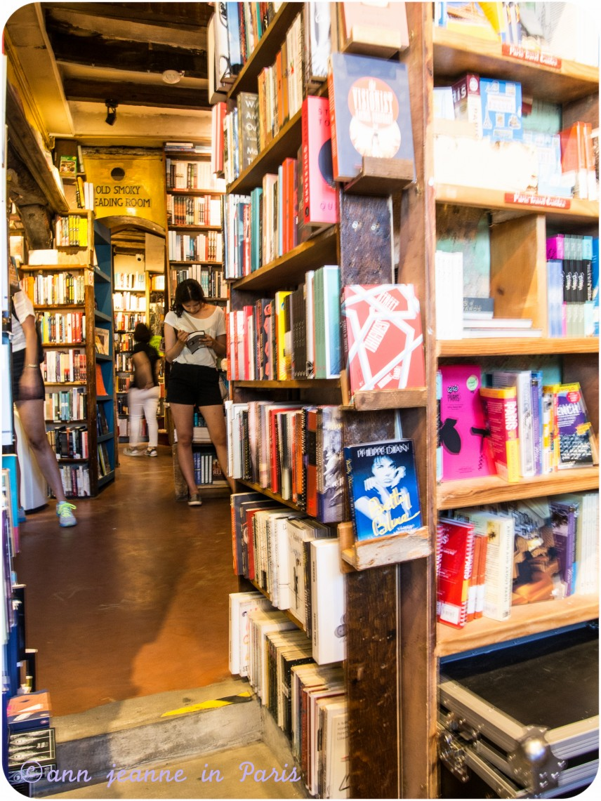 Shakespeare and Company - Bookshelves