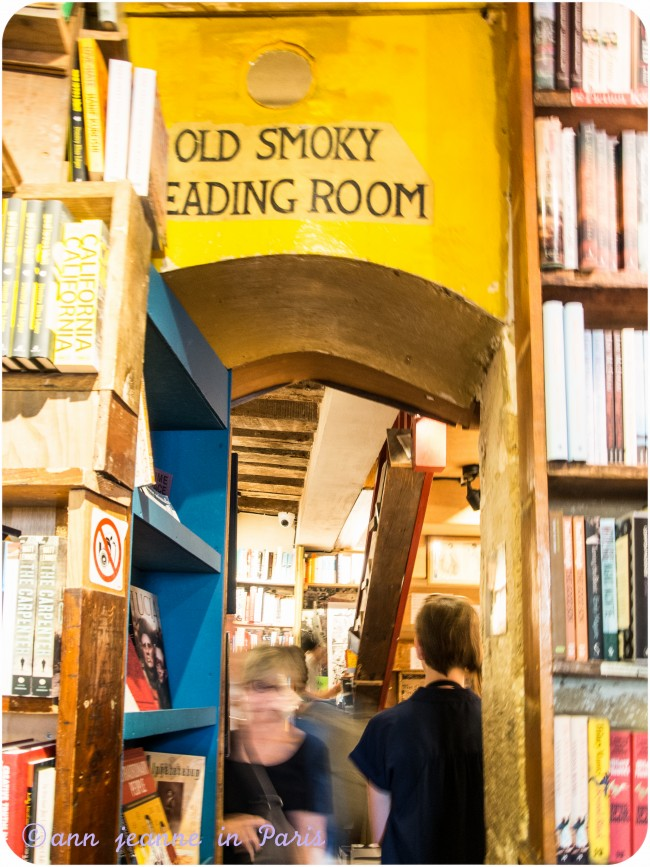 Old smoky reading room