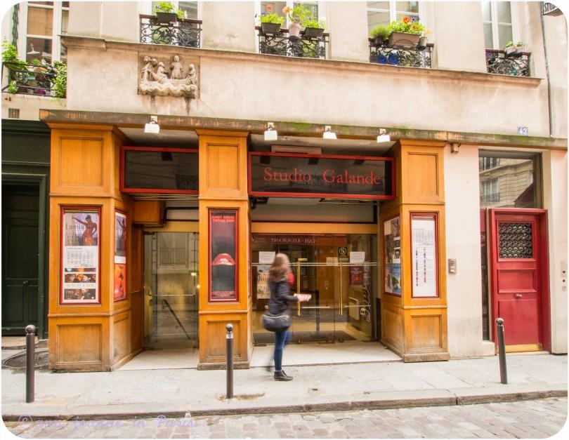 Cinéma, rue Galande