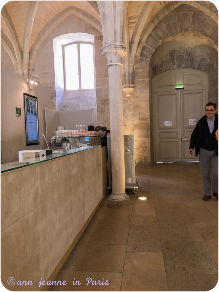 The Café in the College des Bernardins