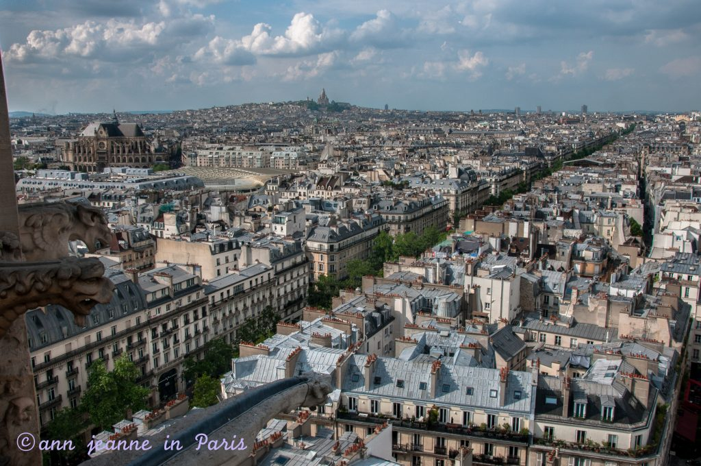 Montmartre and the Sacré Coeur in the background