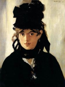 """Edouard Manet, """"Berthe Morisot with a Bouquet of Violets"""", 1872"""