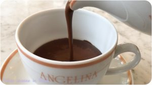 "Angelina's hot chocolate called ""L'Africain"""